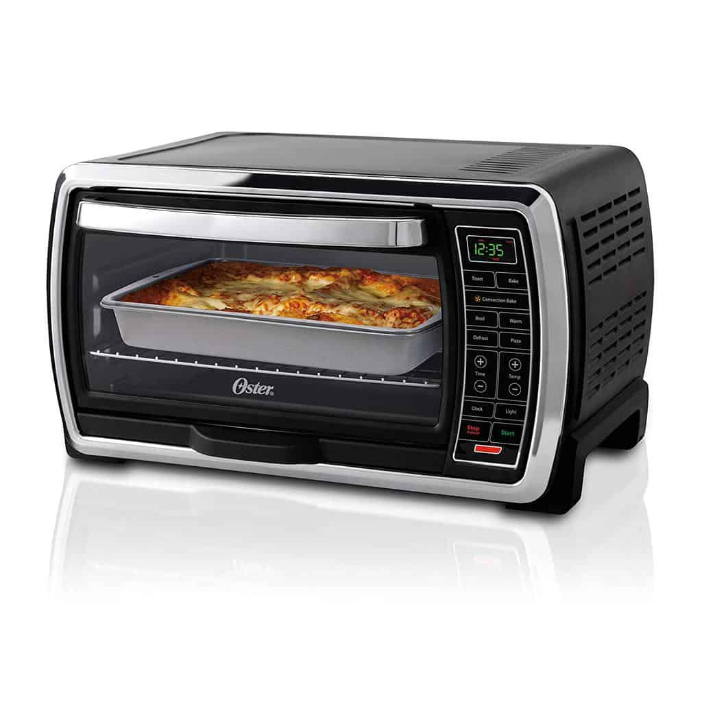 Oster Toaster Oven Digital Convection Oven, Large 6-Slice Capacity